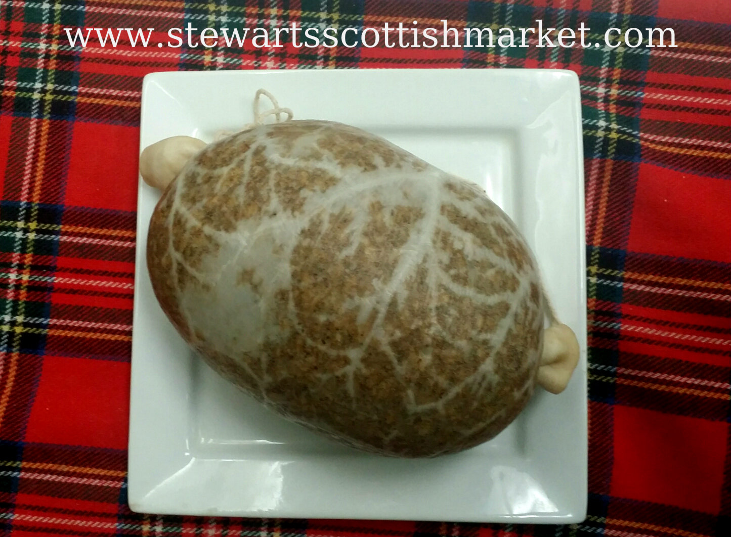 Haggis traditional Scottish dish