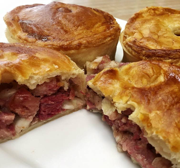 corned beef and cabbage meat pie