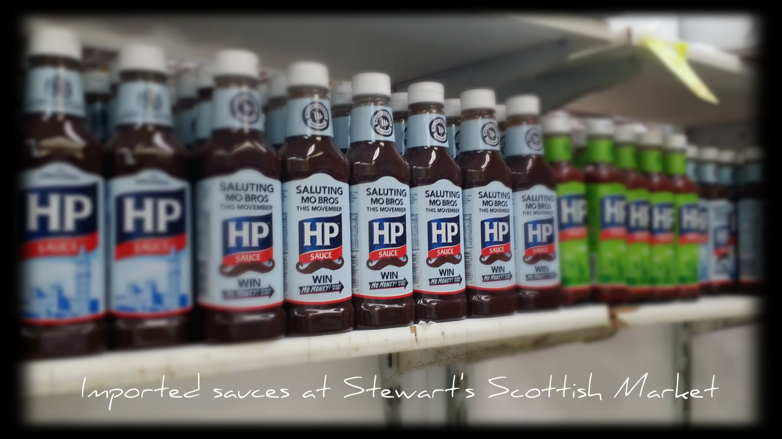 UK imported sauces hp