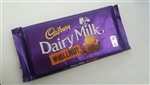 Cadbury whole nut chocolate bar 200g