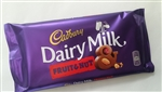 Cadbury fruit and nut chocolate bar 200g