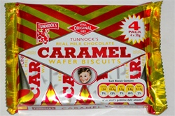 Tunnocks Caramel Wafer 4pack