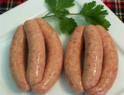 Beef sausages links