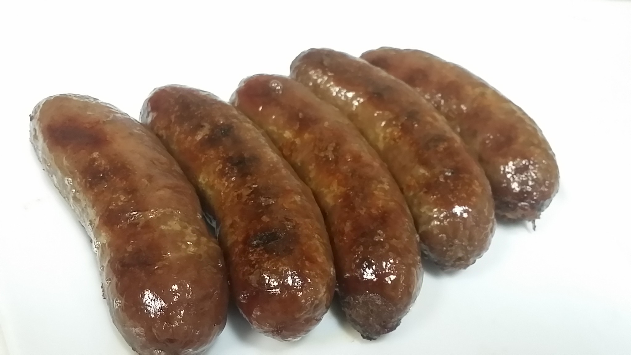 Grilled bangers