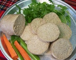 Irish white pudding
