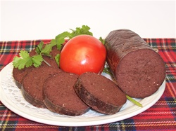 Irish black pudding